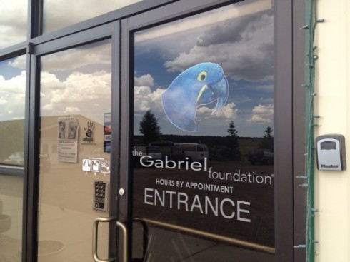 Entrance to The Gabriel Foundation
