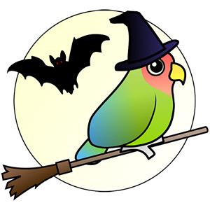 Halloween Bird 2