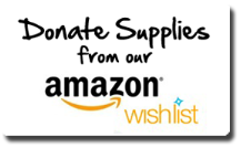 Donate Supplies from our Amazon Wishlist